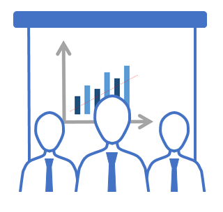 Sales training icon